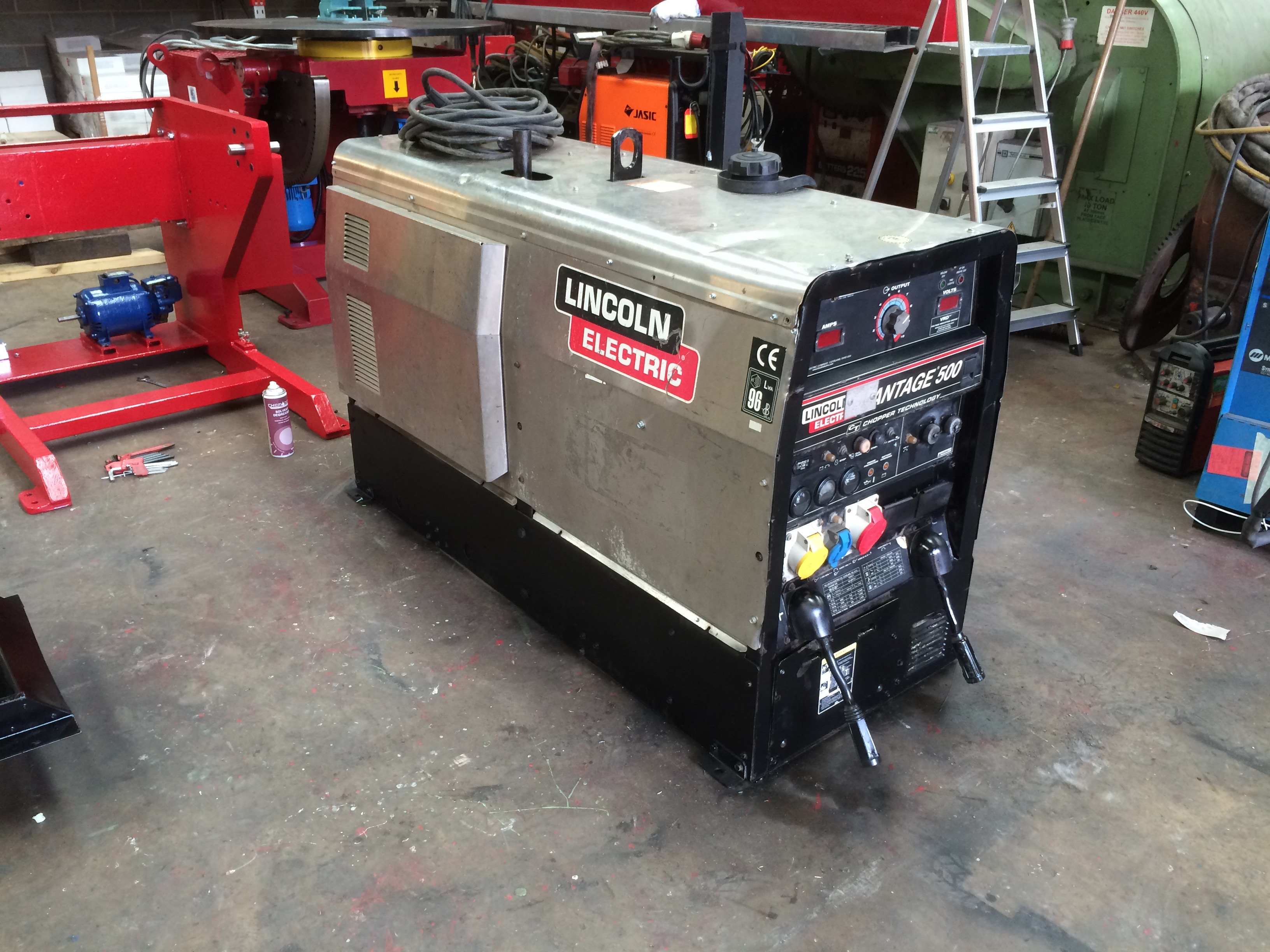 used diesel welding machine for sale