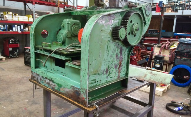 1. Reconditioing Used BODE 3 Tonne Heavy Duty Welding Positioner, with new table