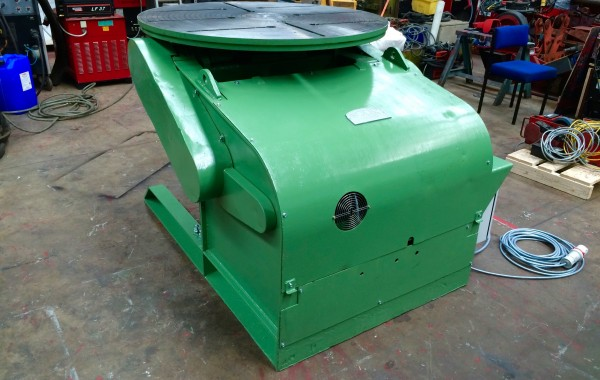 Fully Reconditioned Used BODE Heavy Duty 3 Tonne Welding Positioner