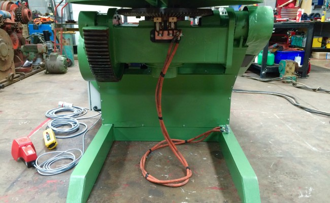 13. Reconditioing Used BODE 3 Tonne Heavy Duty Welding Positioner, with new table