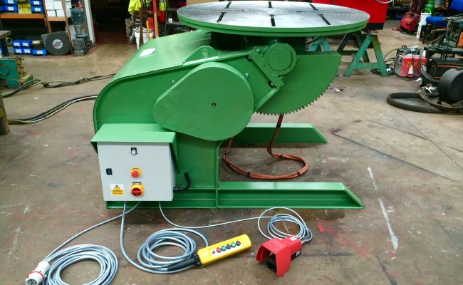 18. Reconditioing Used BODE 3 Tonne Heavy Duty Welding Positioner, with new table