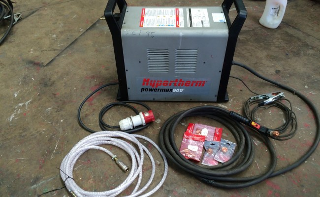 2. Hypertherm Powermax 900 Plasma Cutter 415V