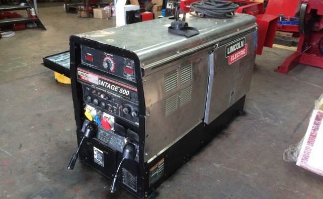 2. Lincoln Electric Vantage 500 Diesel Welder Generator