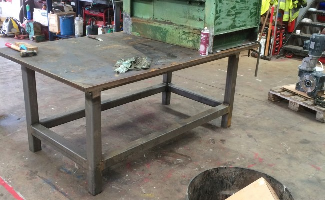 2. Reconditioing Used BODE 3 Tonne Heavy Duty Welding Positioner, with new table