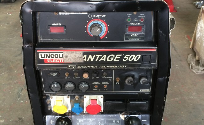 3. Lincoln Electric Vantage 500 Diesel Welder Generator