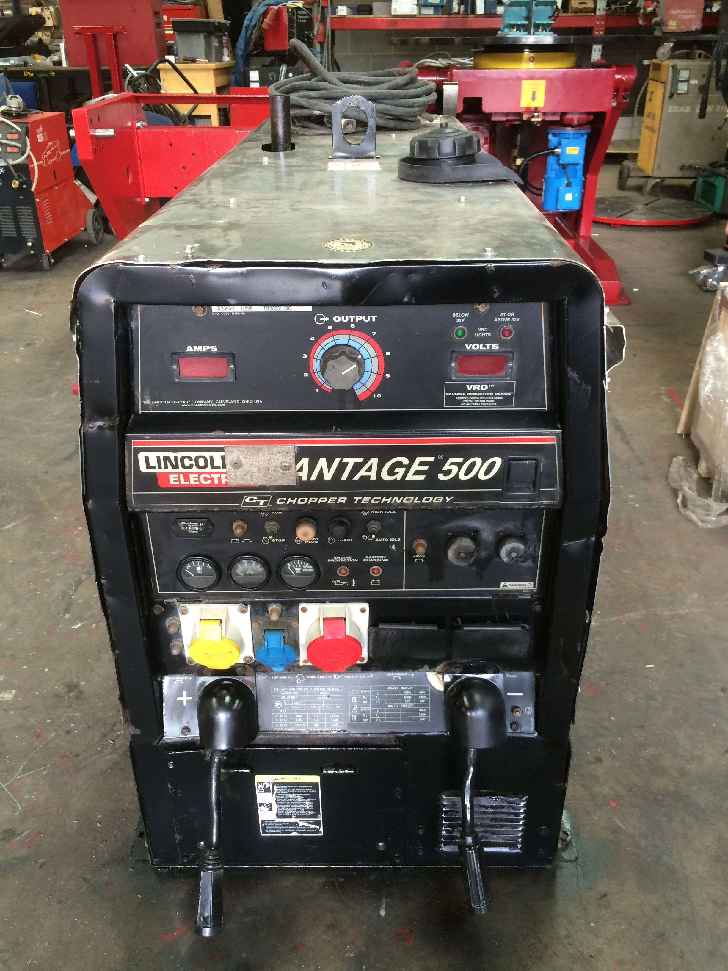 Lincoln Electric Vantage 500 Diesel Welder Generator