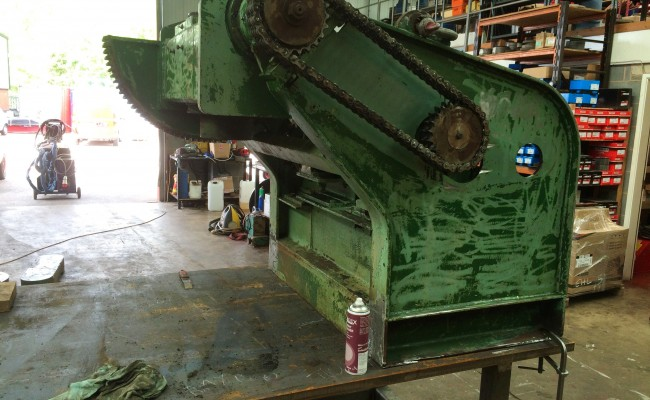 3. Reconditioing Used BODE 3 Tonne Heavy Duty Welding Positioner, with new table