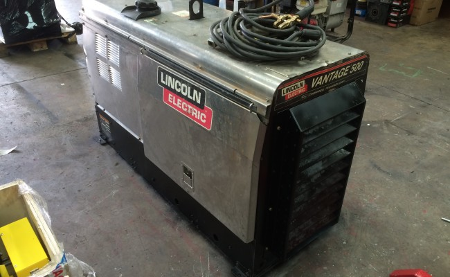 5. Lincoln Electric Vantage 500 Diesel Welder Generator