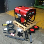 1. Mosa Magic Weld 200 YDE Diesel Welder Generator