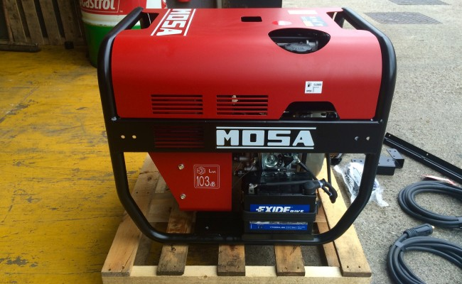 10. Mosa Magic Weld 200 YDE Diesel Welder Generator