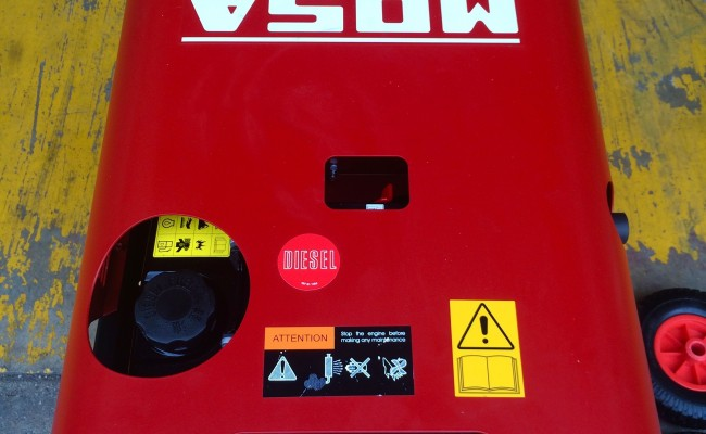 11. Mosa Magic Weld 200 YDE Diesel Welder Generator