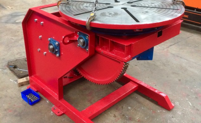 11. Reconditioning 1.5 Tonne Welding Positioner