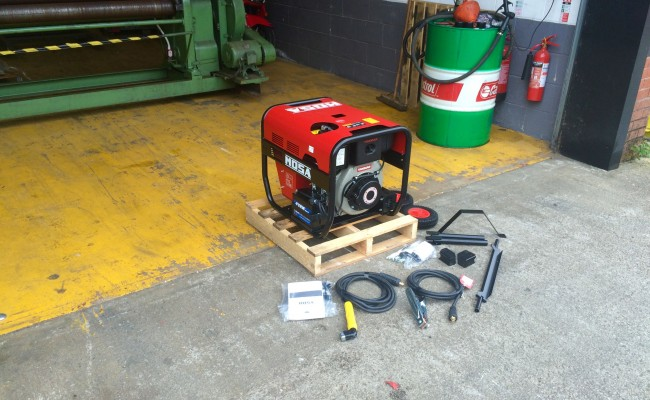 12. Mosa Magic Weld 200 YDE Diesel Welder Generator