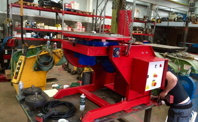 12. Reconditioning 1.5 Tonne Welding Positioner