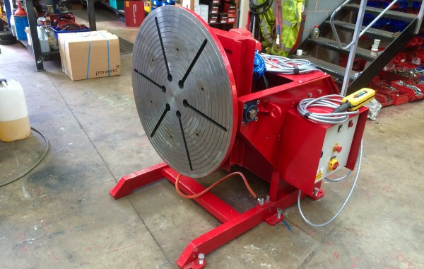 Reconditioing Process of a 1.5 Tonne Welding Positioner