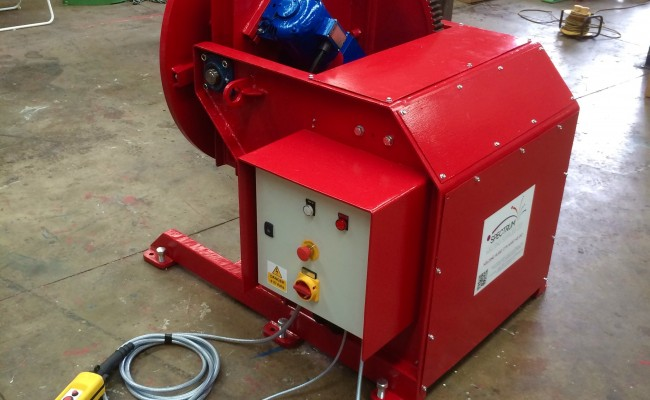 16. Reconditioning 1.5 Tonne Welding Positioner