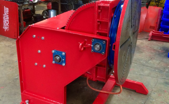 19. Reconditioning 1.5 Tonne Welding Positioner