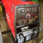 2. Lincoln Electric Ranger 305D Diesel Welder Generator with LN25 MIG Feeder Setup