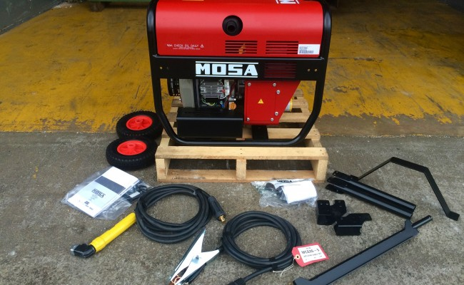 2. Mosa Magic Weld 200 YDE Diesel Welder Generator