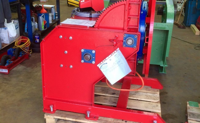 21. Reconditioning 1.5 Tonne Welding Positioner