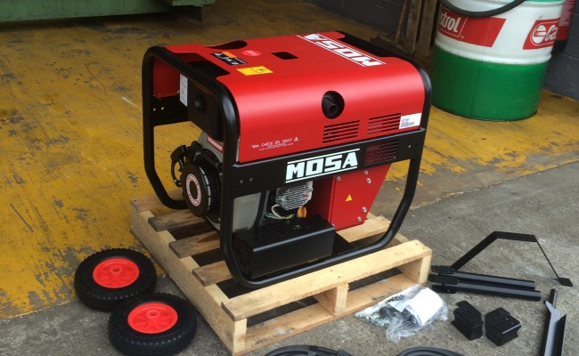 4. Mosa Magic Weld 200 YDE Diesel Welder Generator