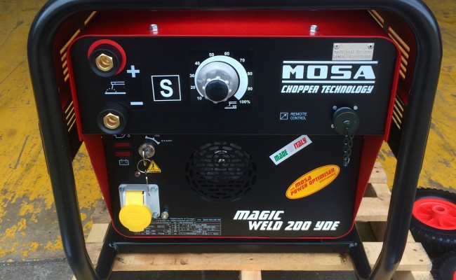 5. Mosa Magic Weld 200 YDE Diesel Welder Generator