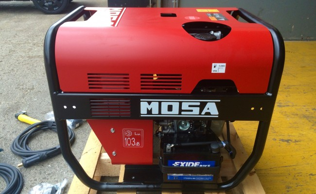 7. Mosa Magic Weld 200 YDE Diesel Welder Generator