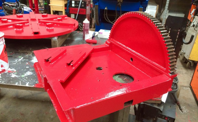 9. Reconditioning 1.5 Tonne Welding Positioner