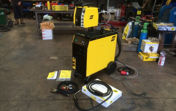 ESAB Origo MIG L405 MIG Welding Machine Package