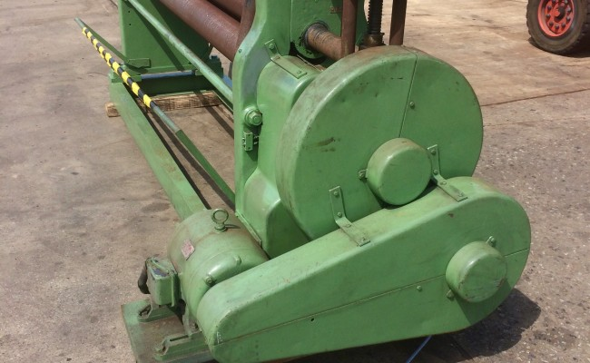 2. Plate Bending Machine, Pyramid Rolls