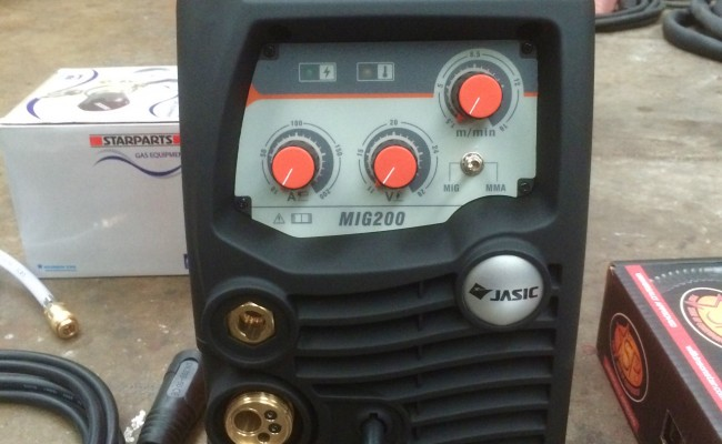 3. Jasic 200 MIG:MMA Multi Process Welder Inverter