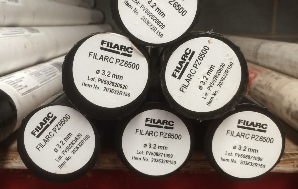 Filarc PZ6500 3.2mm TIG Filler Rod 5kg Tube, A18 ER70S-6