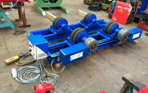 15 Tonne Welding Rotators For Hire