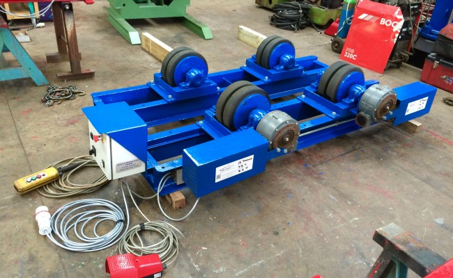 1. 15 Tonne Welding Rotators for hire