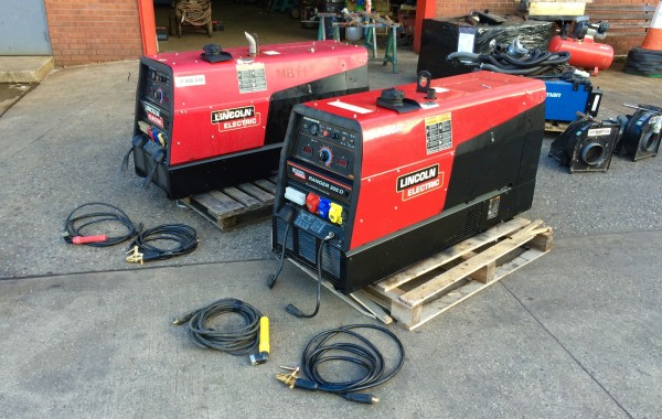 Lincoln Electric Ranger 305D Diesel Welder Generator Skid Mounted