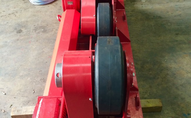 13. BODE 10 Tonne SAR Self Aligning Welding Rotators Reconditioning Process