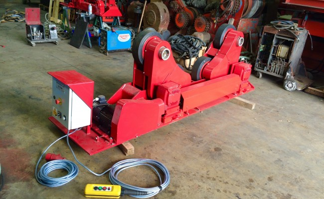 14. BODE 10 Tonne SAR Self Aligning Welding Rotators Reconditioning Process