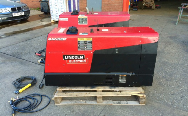 2. Lincoln Electric Ranger 305D welder generator skid mounted