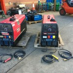 3. Lincoln Electric Ranger 305D welder generator skid mounted