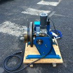 4. 100kg Welding Positioner 240V including 3 Jaw 8 inch Quick Release Chuck