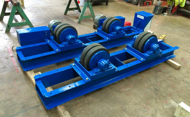 4. 15 Tonne Welding Rotators for hire