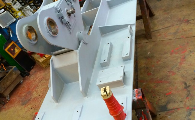 4. BODE 10 Tonne SAR Self Aligning Welding Rotators Reconditioning Process