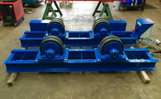 5. 15 Tonne Welding Rotators for hire