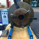 6. 100kg Welding Positioner 240V including 3 Jaw 8 inch Quick Release Chuck
