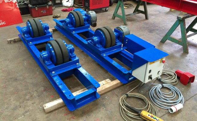 6. 15 Tonne Welding Rotators for hire