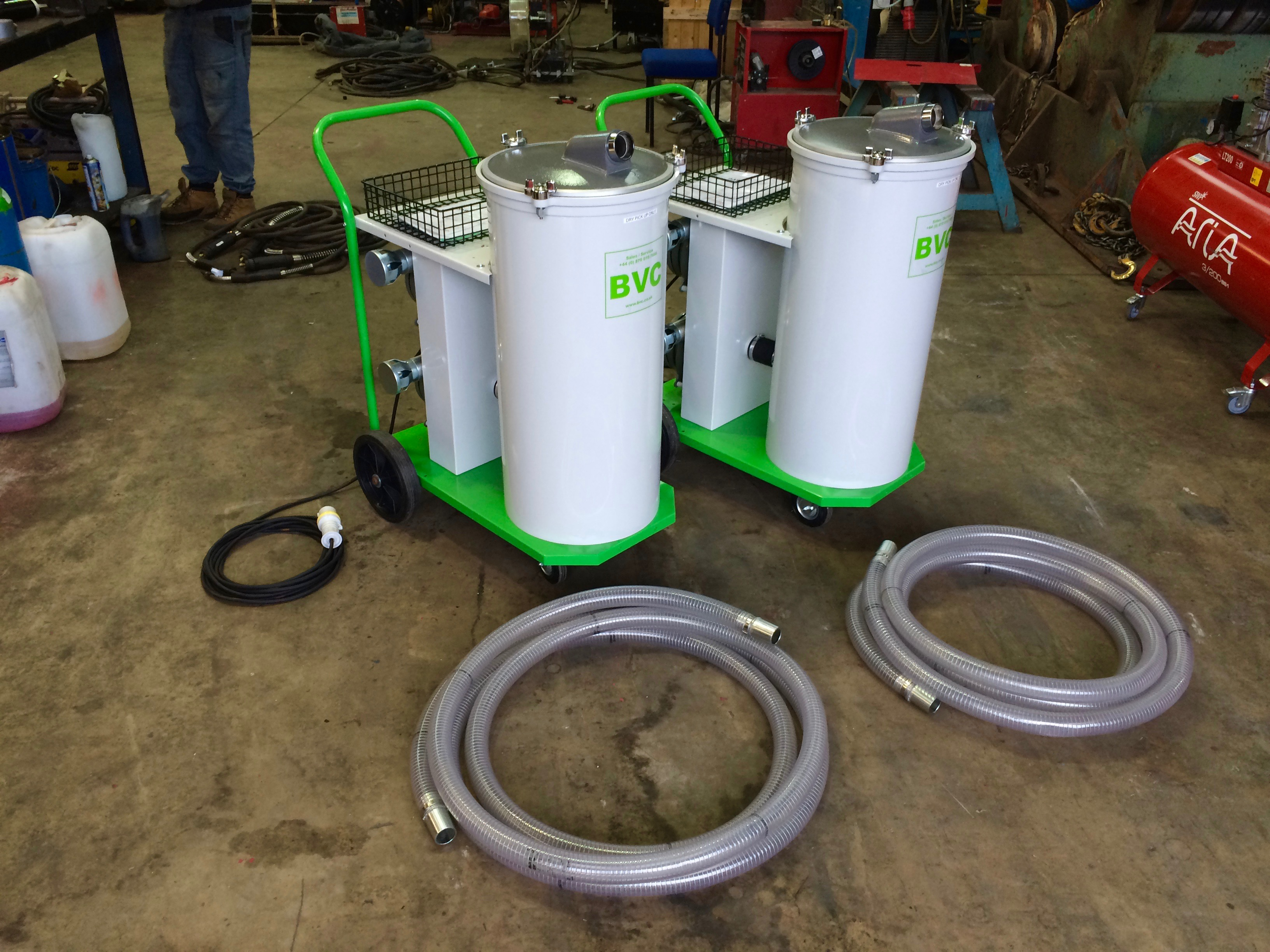 Brand New BVC Submerged Arc Portable Flux Recovery Units For Hire, 110V