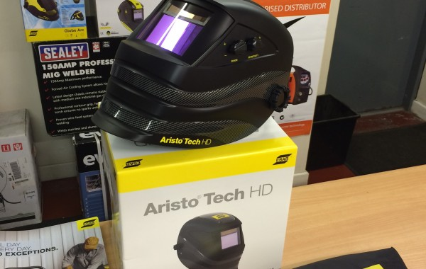 1. ESAB Aristo Tech HD Welding Helmet