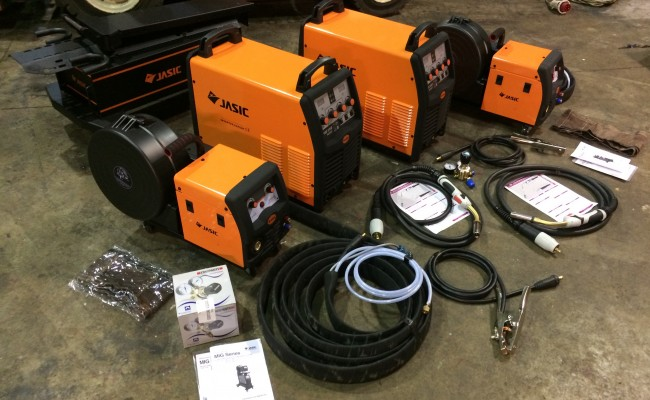 1. Jasic MIG 350 Separate Multi Process CC:CV MIG Welder Inverter Machine Package Deal