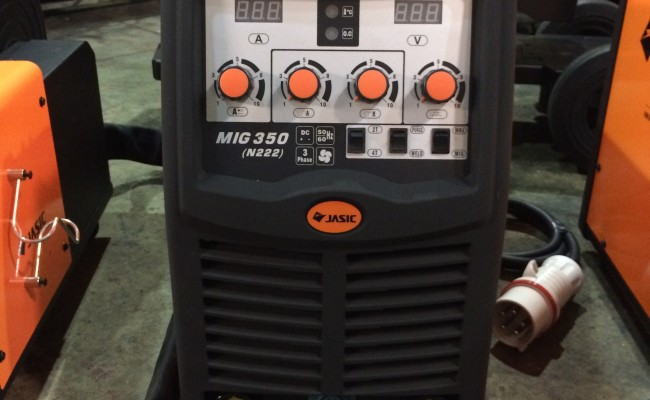 4. Jasic MIG 350 Separate Multi Process CC:CV MIG Welder Inverter Machine Package Deal