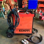 4. Kemppi RA450 MIG Welding Machine Complete With Rival 4 Drive Roll Wire Feeder Complete Package